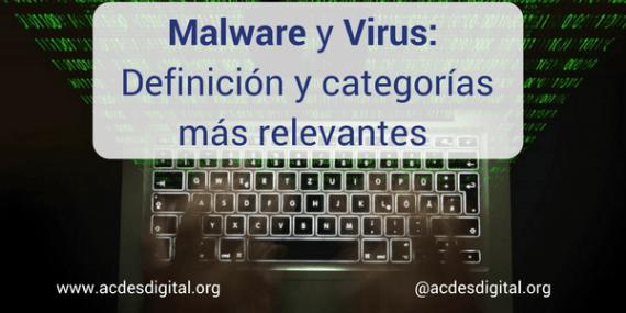 Malware Virus Definición Categorías