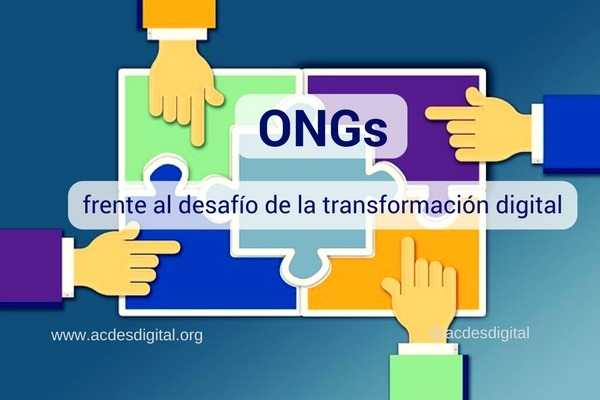 ONGs frente al desafío actual de la transformación digital