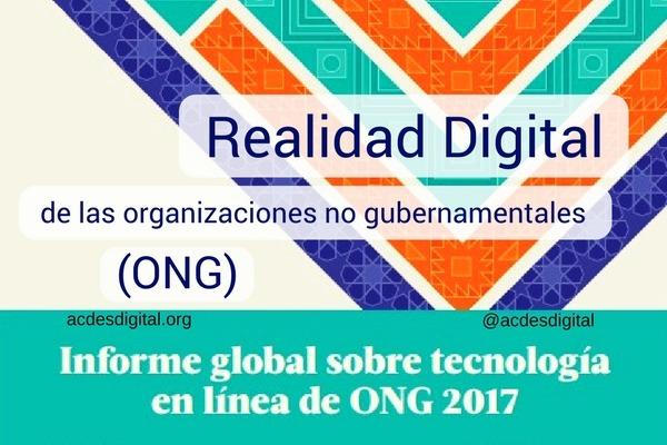 Realidad Digital de las organizaciones no gubernamentales (ONG)