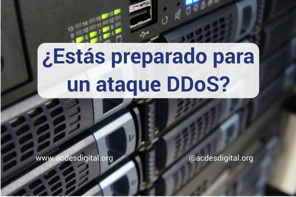 ¿Estás preparado para un ataque DDoS?