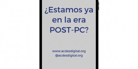 ¿Estamos ya en la era post-pc?