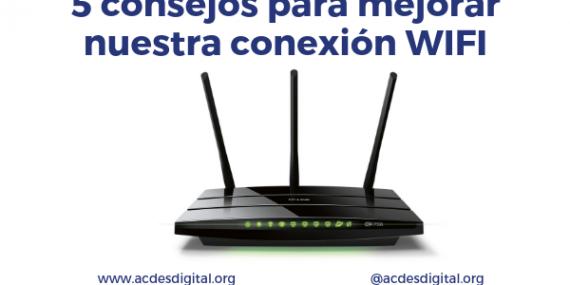 Consejos mejorar conexión WIFI