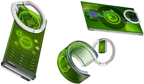 Teléfonos plegables